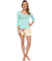 Josie - Brush Notes Short PJ Set