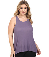 Yummie by Heather Thomson - Plus Size 2x1 Pima Rib Racer Tank Top