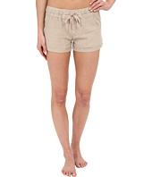 P.J. Salvage - Washed Linen-Blend Shorts