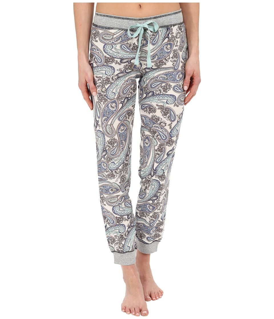 P.J. Salvage Paisley Jogger Pants Multi Womens Pajama