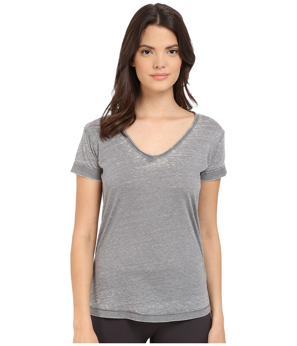 P.J. Salvage Burnout Jersey Tee Grey Womens Pajama