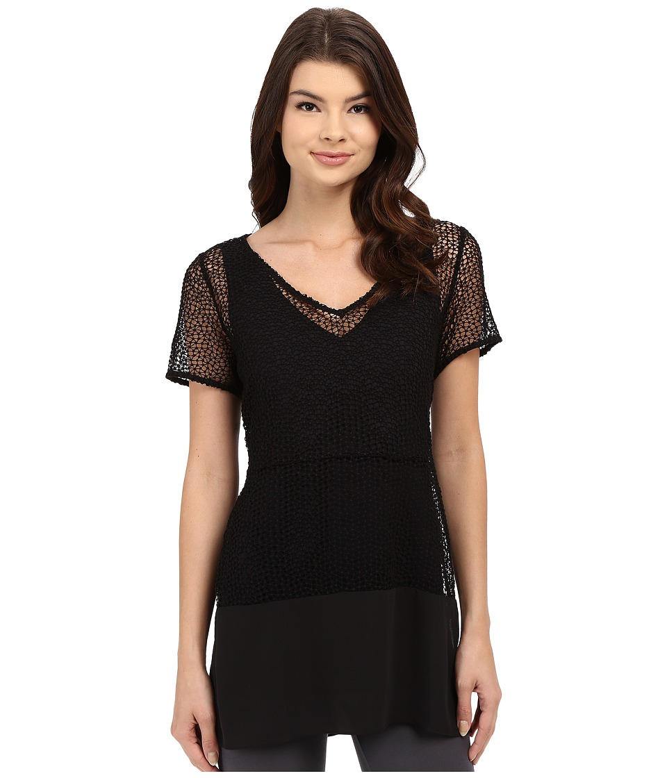 Lysse Elena Lace Top Black Womens Clothing