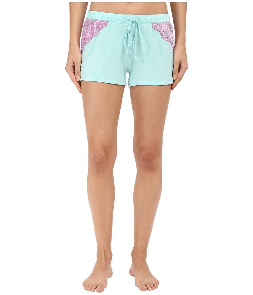 P.J. Salvage Sorbet Combo Shorts Mint Womens Pajama