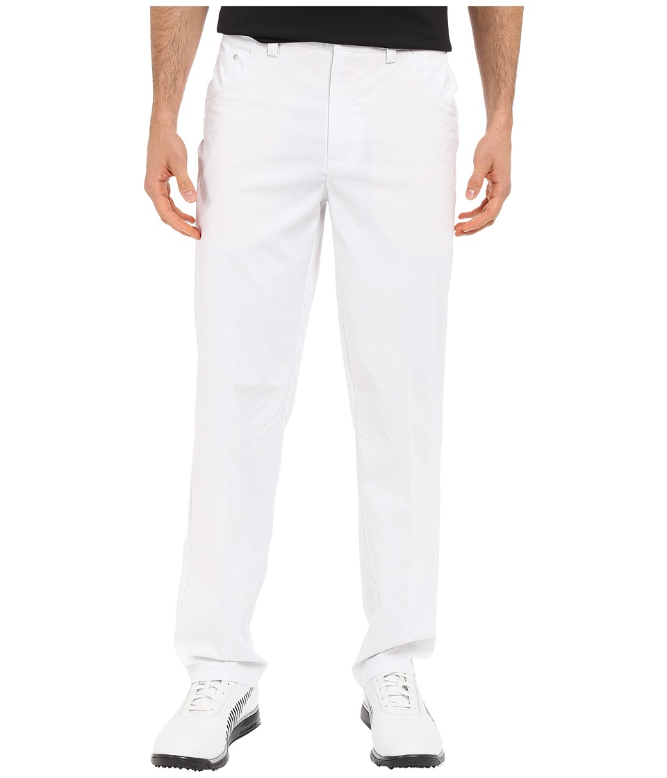 PUMA Golf 6 Pocket Pants White Mens Casual Pants
