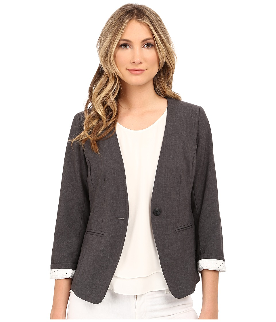 kensie - Heather Stretch Crepe Blazer KS2K2164