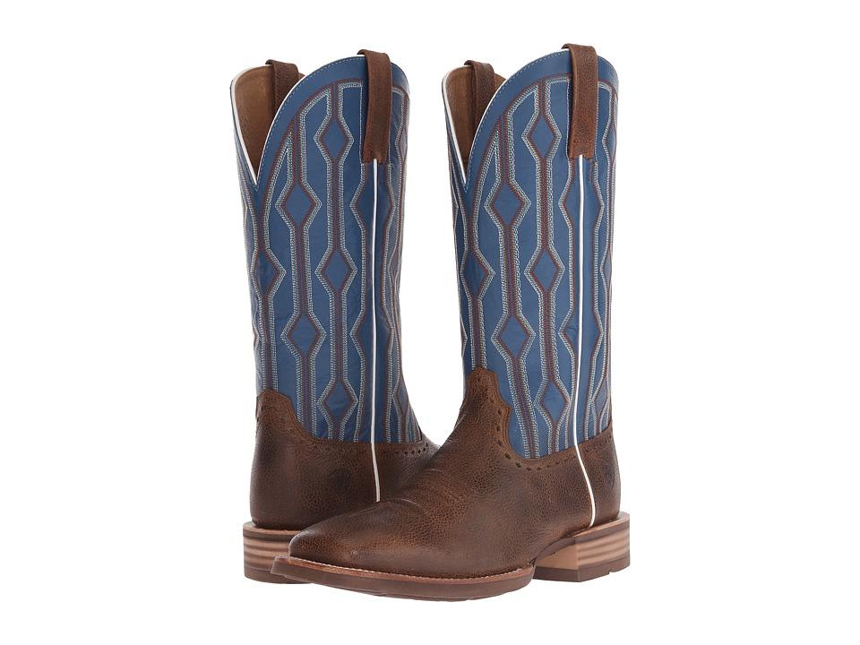 Ariat Live Wire (Copper Kettle/Royal) Cowboy Boots