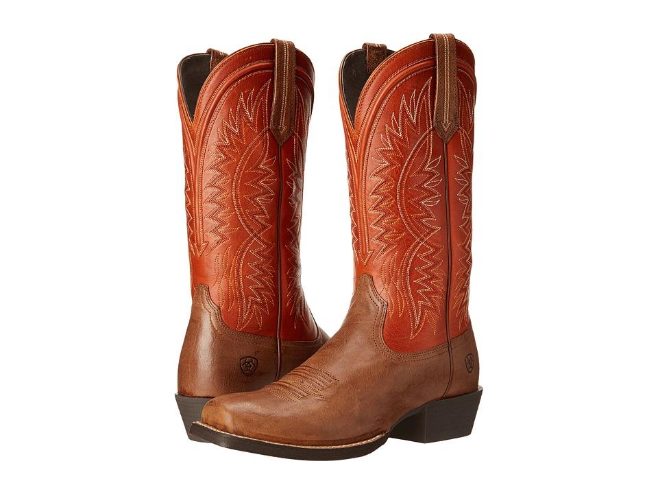 Ariat Troubadour (Wood/Tuscan Sun) Cowboy Boots