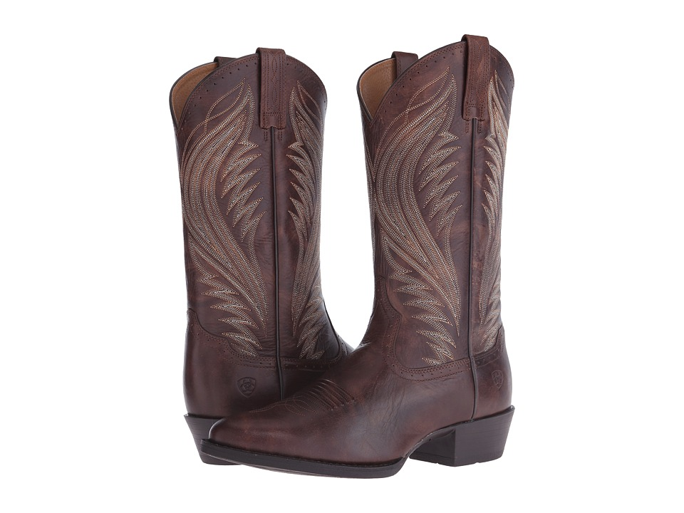 Ariat Boomtown (Brushed Brown) Cowboy Boots