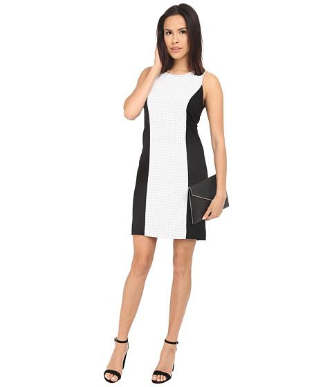 kensie Ponte Fitted Dress KS3K...