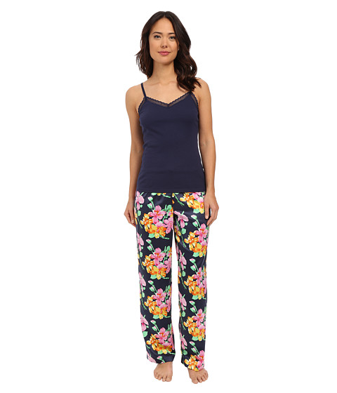 LAUREN Ralph Lauren Knit Cami/Long Pants Pajama Set