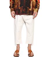 Vivienne Westwood - Printed Linen Twist Seam Samurai Pants