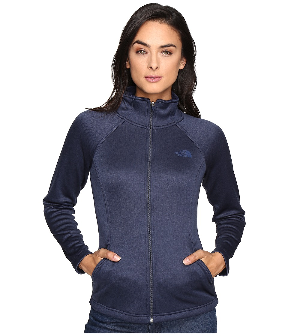 The North Face Agave Full Zip (Cosmic Blue Heather) Women