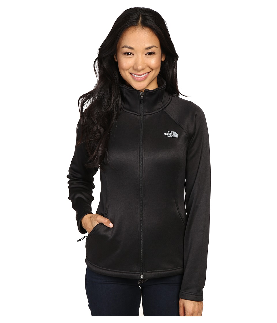 The North Face Agave Full Zip (TNF Black Heather/Mid Grey) Women