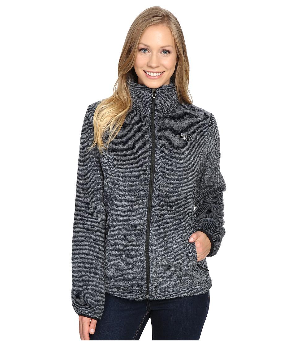 The North Face Osito 2 Jacket (TNF Black/Mid Grey Stripe) Women