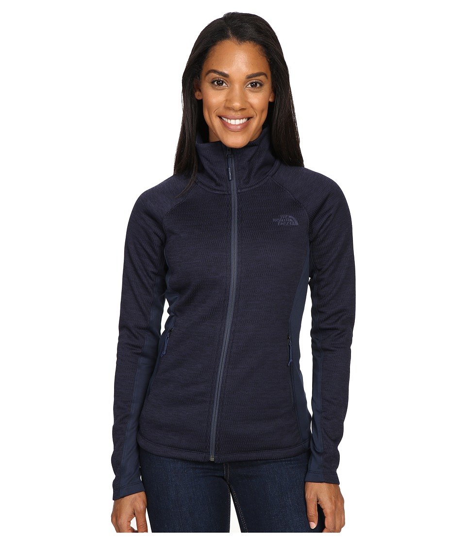 The North Face Arcata Full Zip (Cosmic Blue Heather/Cosmic Blue (Prior Season)) Women