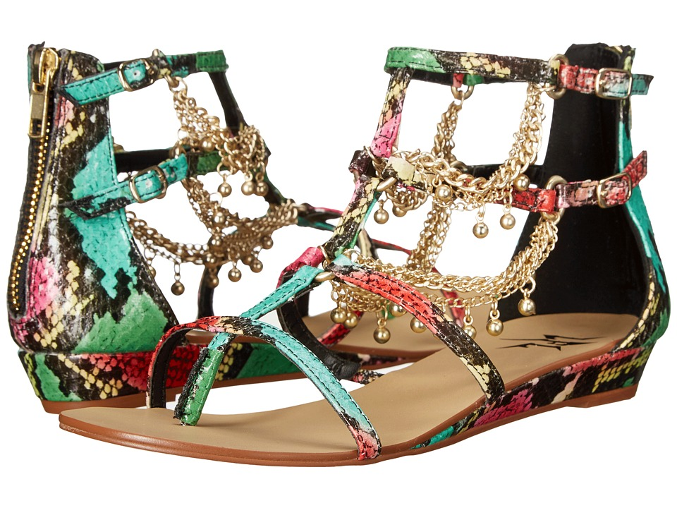 LFL by Lust For Life Angel Bright Multi Womens Sandals