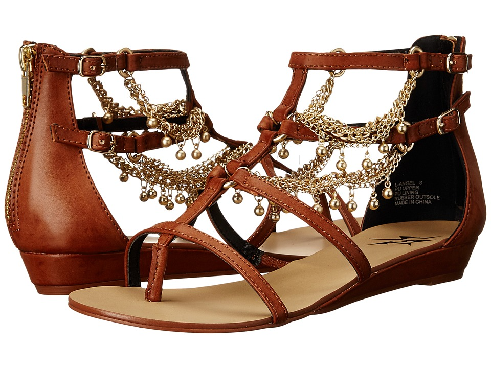 LFL by Lust For Life Angel Cognac Womens Sandals