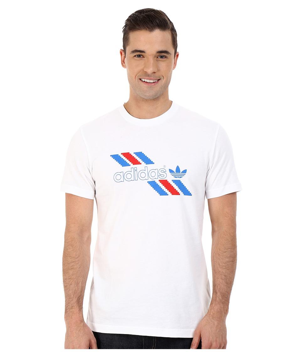 adidas Originals Linear Tee (White) Men