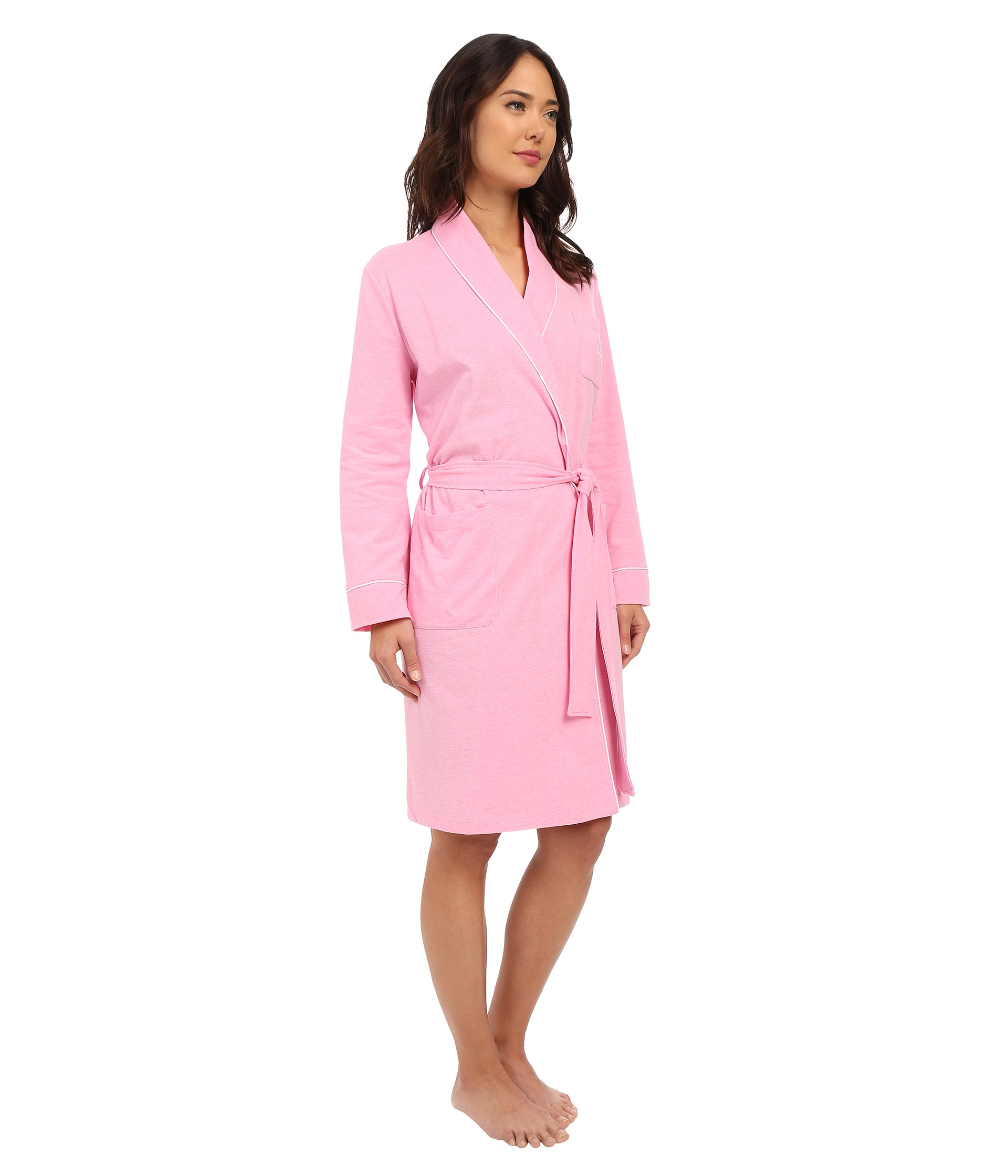 lauren ralph lauren pique robe free shipping both ways. Black Bedroom Furniture Sets. Home Design Ideas