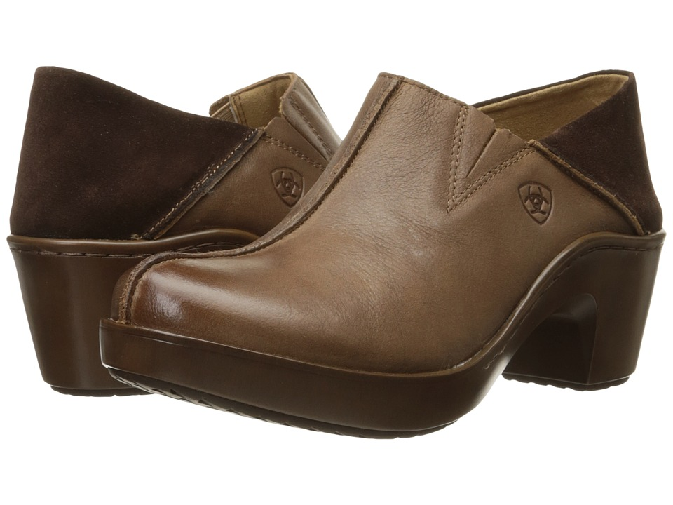 Ariat - Kick Back Clog (Burnt Sugar) Women