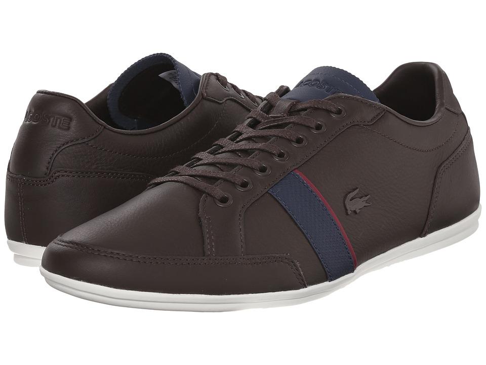 Lacoste Alisos 116 1 Dark Brown Mens Shoes