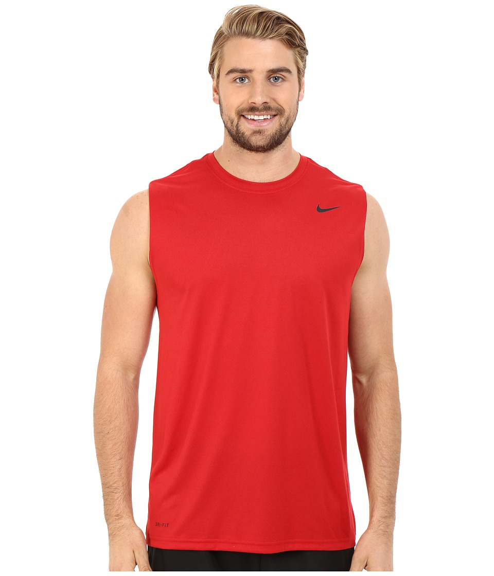 Nike Legend 2.0 Sleeveless Tee (Gym Red/Black/Black) Men
