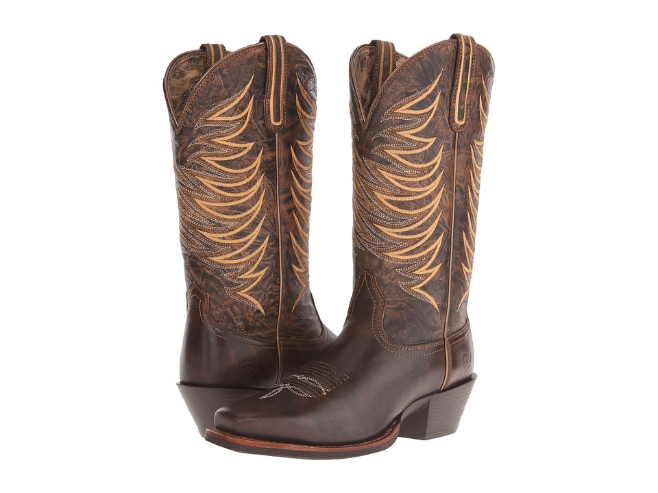 Ariat - Legend Legacy (Brushed Brown) Cowboy Boots