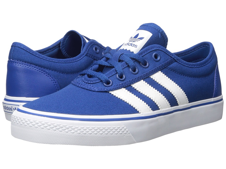 adidas Skateboarding Adi Ease EQT Blue/White/EDT Blue Canvas Mens Skate Shoes