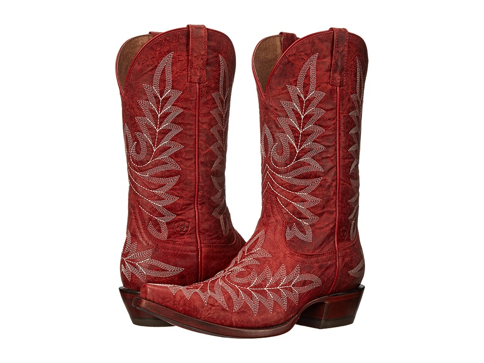 Ariat - Brooklyn (Revel Red) Cowboy Boots