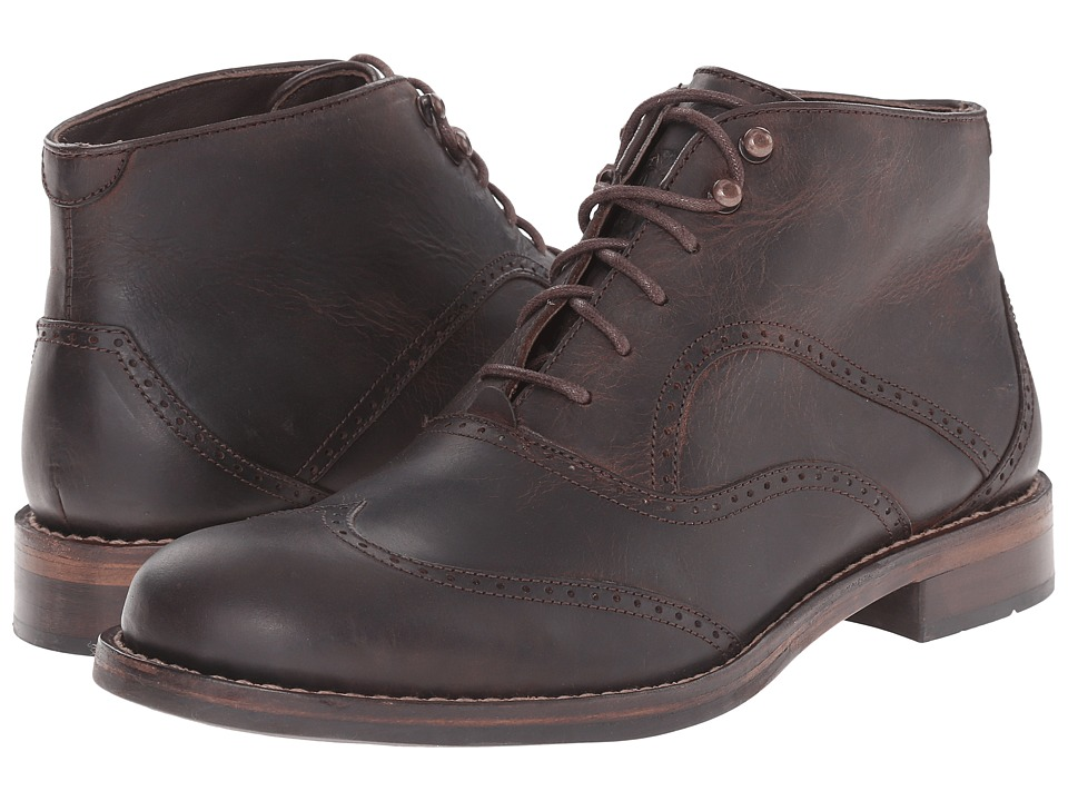 Wolverine 1000 Mile Wesley Wingtip Chukka Brown Mens Lace up Boots