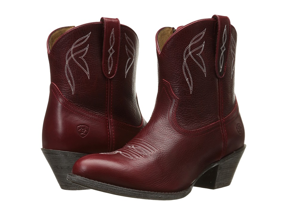 Ariat - Darlin (Rosy Red) Cowboy Boots