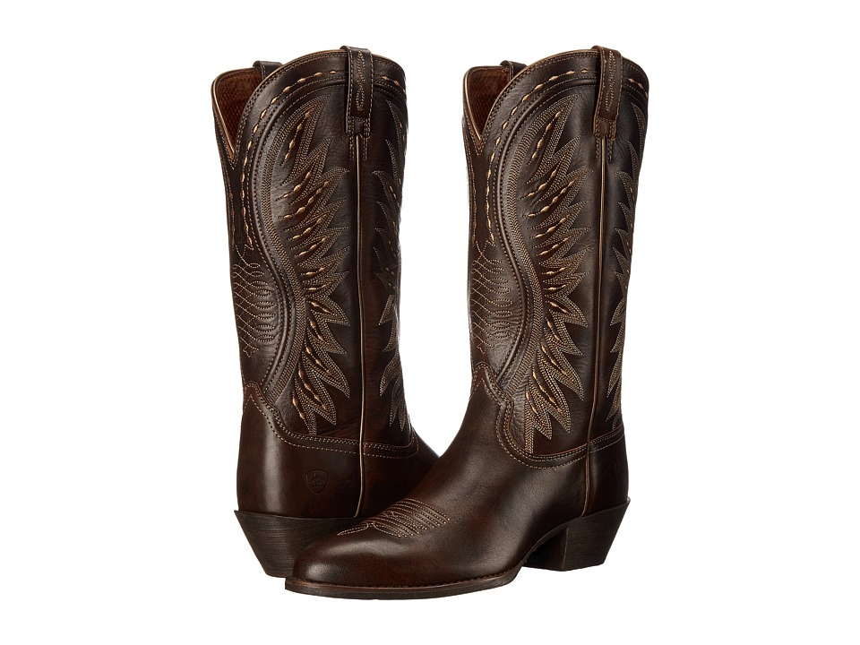 Ariat - Ammorette (Brushed Brown) Cowboy Boots