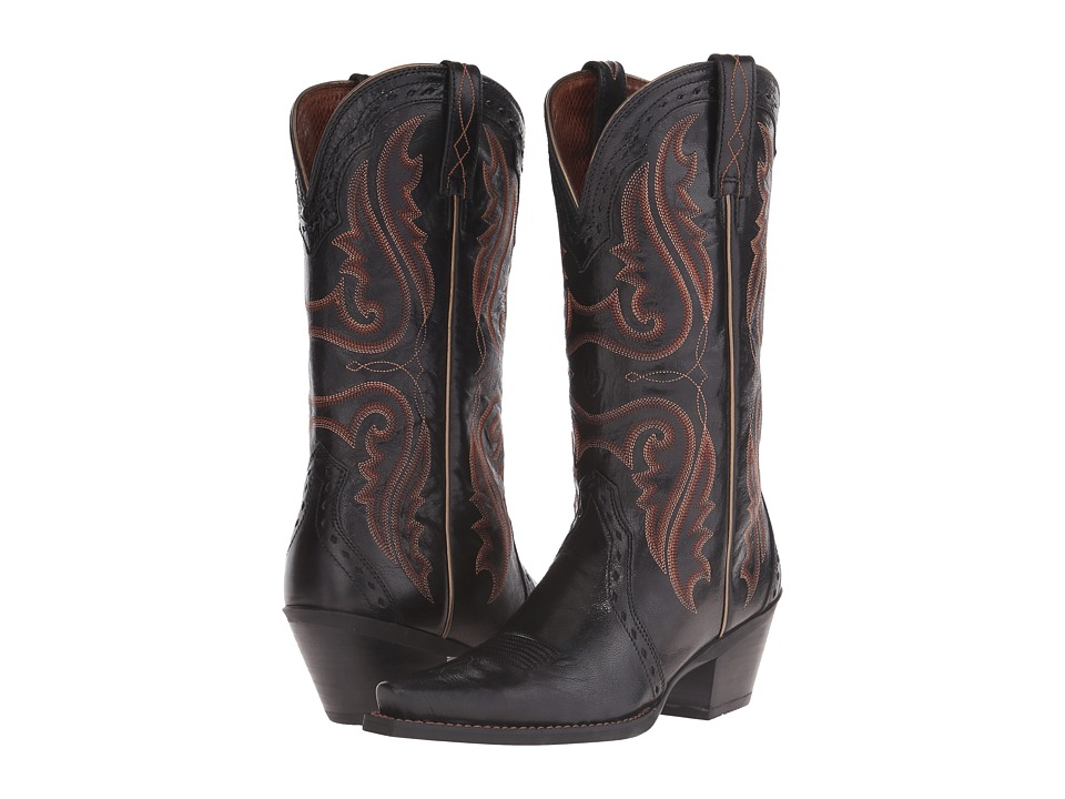 Ariat Heritage Western X-Toe (Old Black) Cowboy Boots