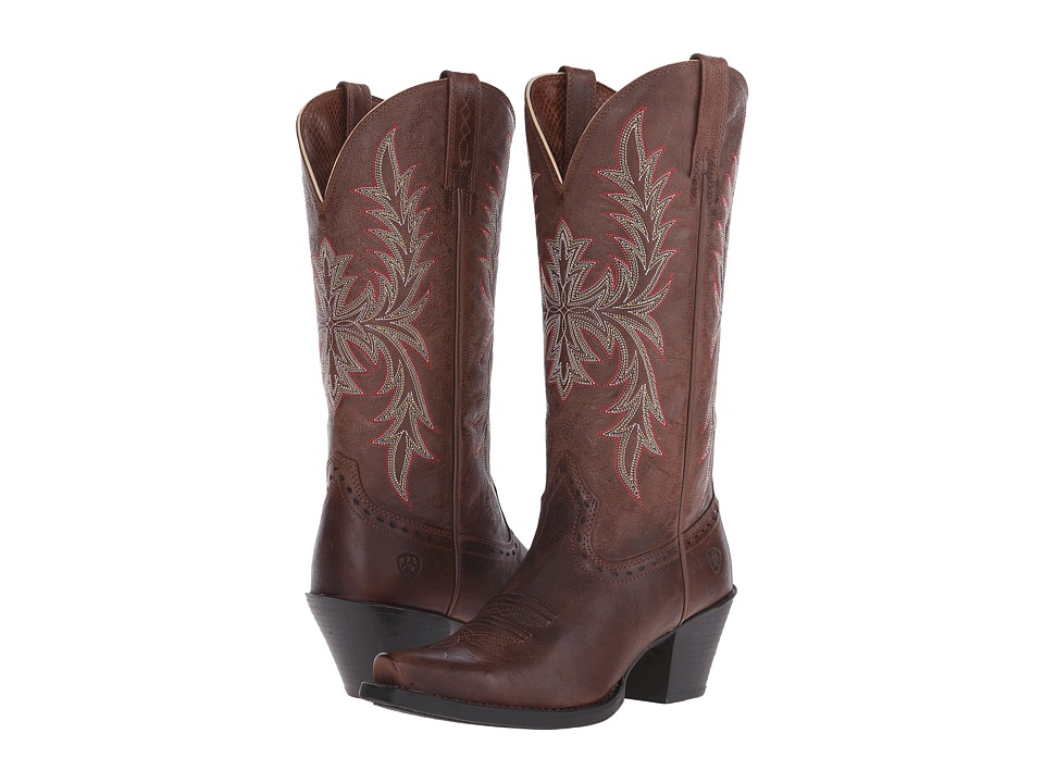 Ariat - Round Up Maddox (Wood) Cowboy Boots