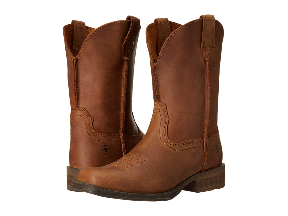 Ariat - Rambler (Dusted Brown) Cowboy Boots
