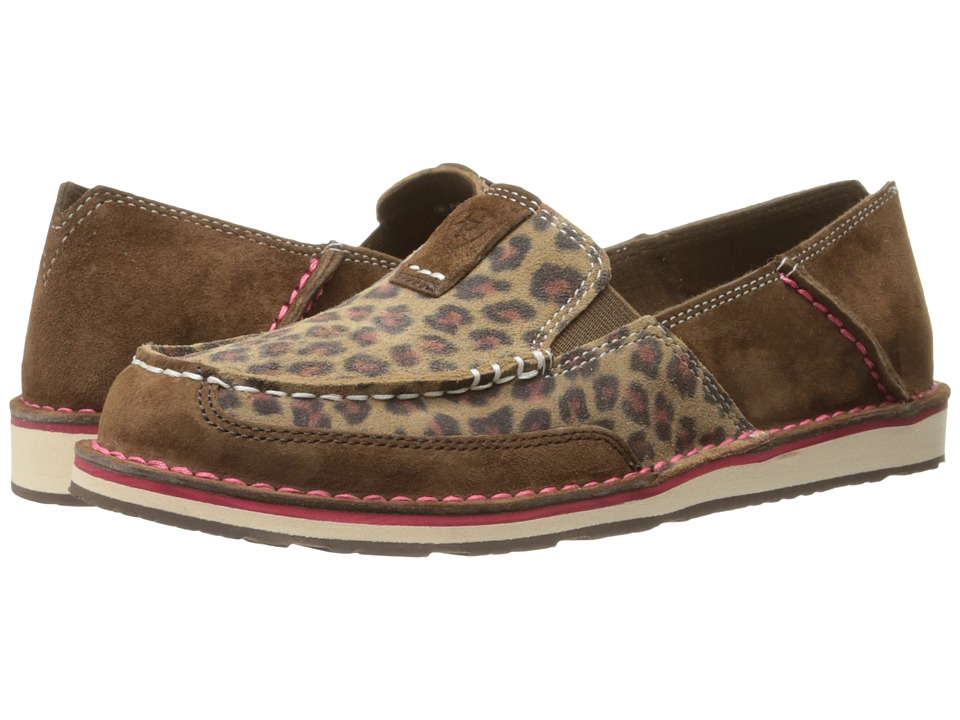 Ariat Cruiser (Dark Earth/Cheetah) Slip-On Shoes