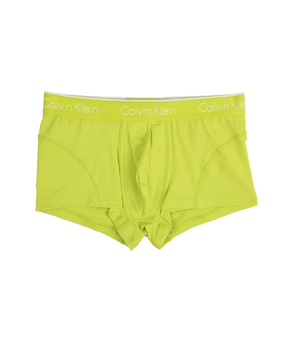 Calvin Klein Underwear Air Micro Low Rise Trunk Striking Lime Mens Underwear