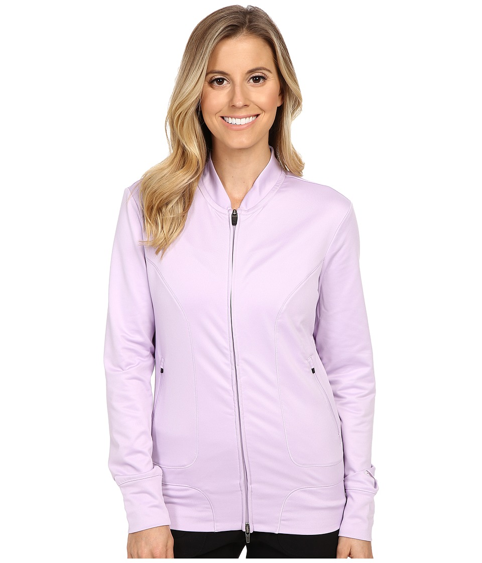 PUMA Golf Baseball Jacket Orchid Bloom Womens Coat