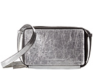 French Connection Amy Crossbody (Silver Crinkle PU)