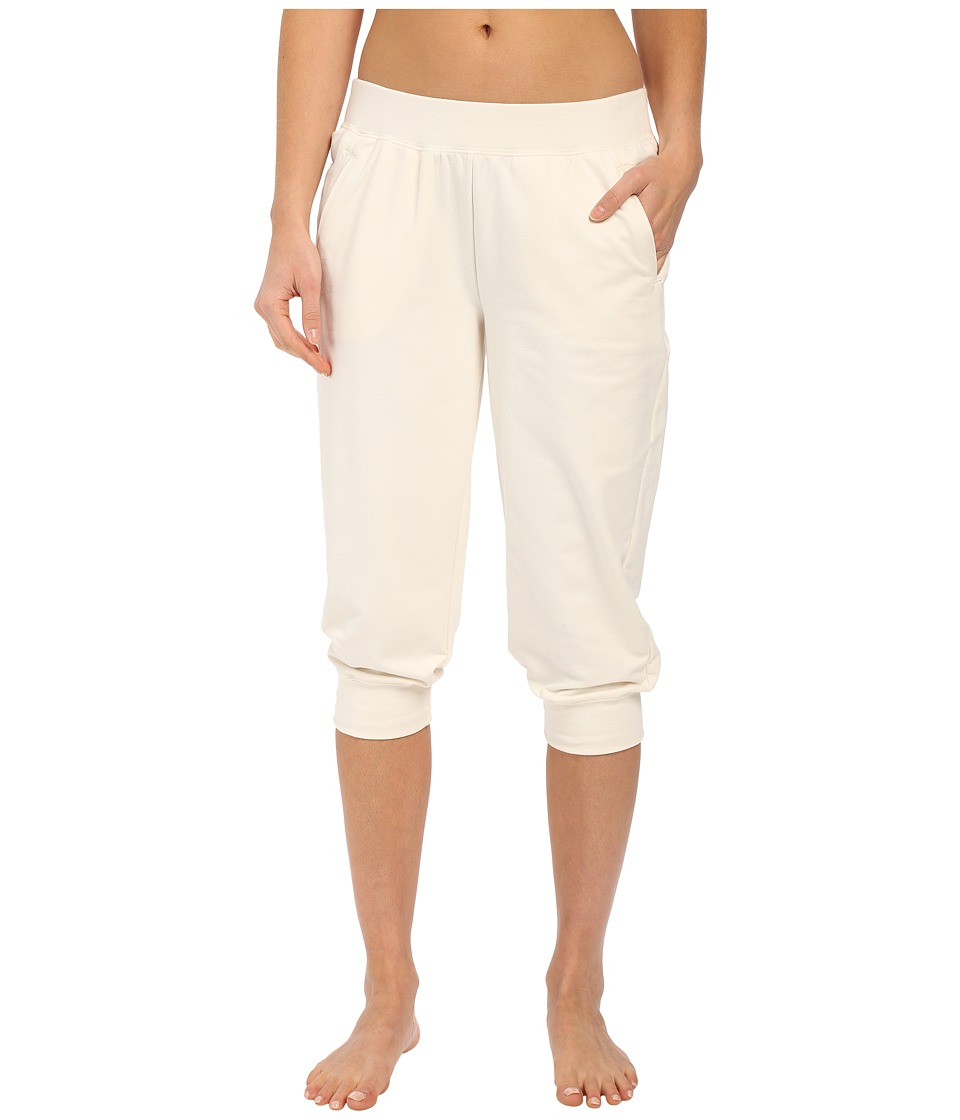 Yummie by Heather Thomson Baby French Terry Capris Cream Womens Capri