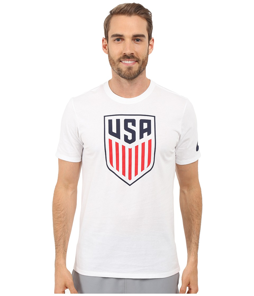 Nike USA Crest Tee (White) Men