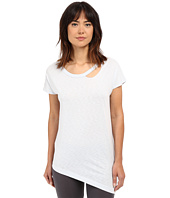 Yummie by Heather Thomson - Jersey Slub Dropped Neckline Cut Out Tee