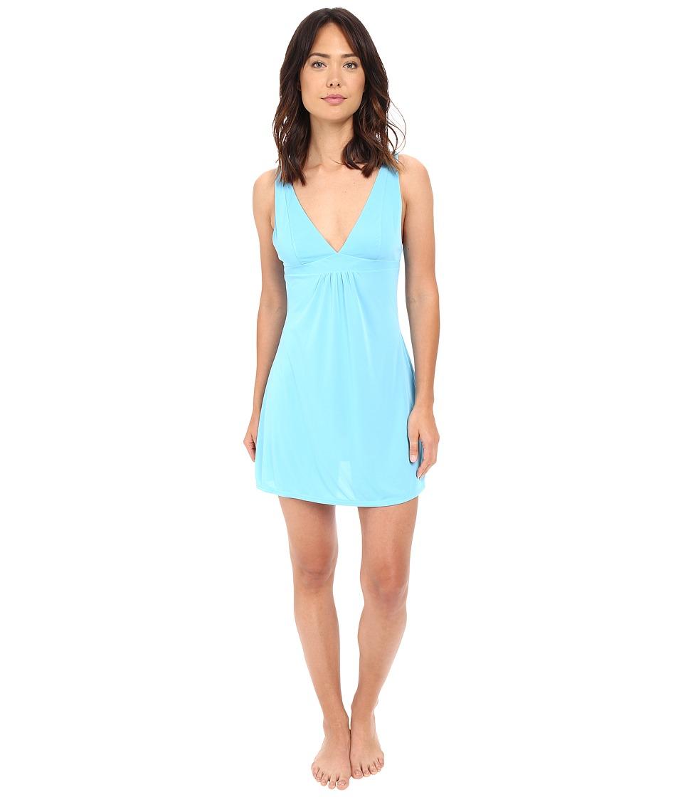 Natori Aphrodite Chemise Mirage Blue Womens Pajama
