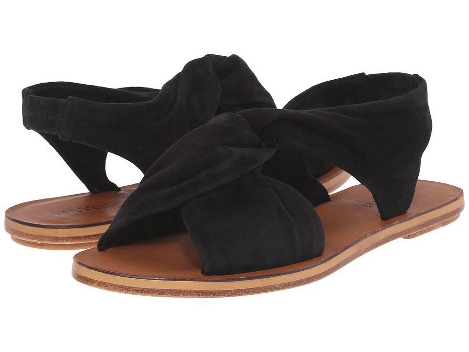 10 Crosby Derek Lam Pell Black Fine Suede Womens Toe Open Shoes