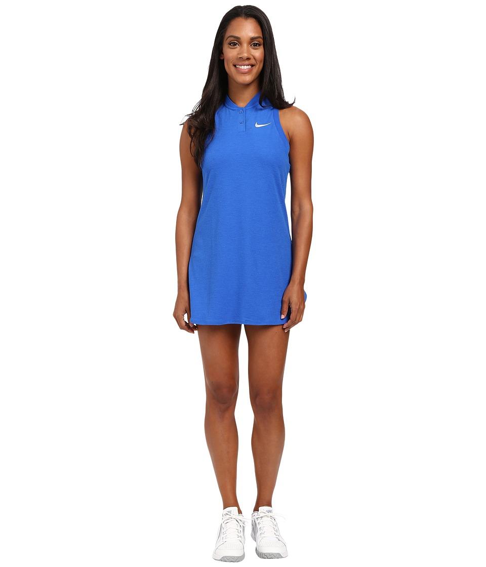 Nike Court Premier Slam Tennis Dress Hyper Cobalt Womens Dress