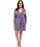 Yummie by Heather Thomson - Plus Size Pima Jersey Short Robe