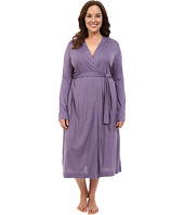 Yummie by Heather Thomson - Plus Size Pima Jersey Long Robe