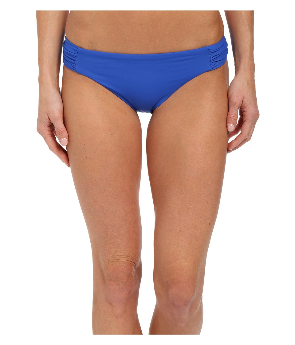 BECCA by Rebecca Virtue Color Code Tab American Bottom Electric Blue Womens Swimwear