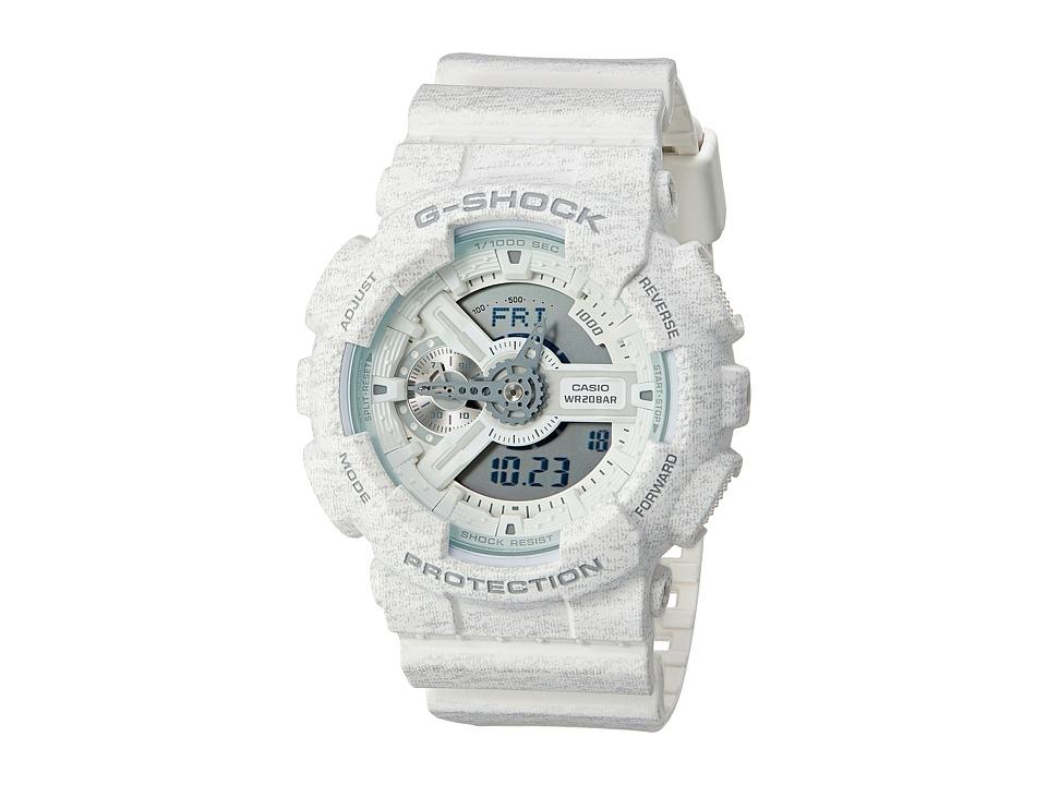 G Shock GA 110HT 7 White Sport Watches