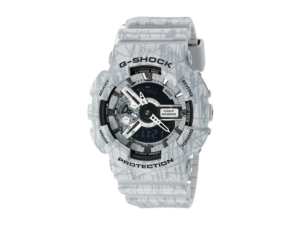 G Shock GA 110SL 8 Grey Sport Watches